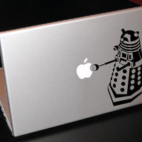 "Dalek Doctor Who 15"" Macbook Apple Laptop Decal"