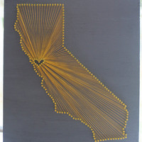 California Love // Nail and String Tribute to The by cwrought