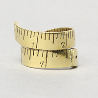 The Ruler Ring in Brass