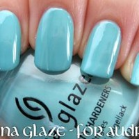 Amazon.com: China Glaze For Audrey 625: Health & Personal Care