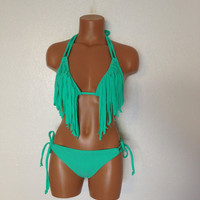 Seashore Fringe swimsuit