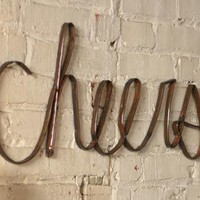 scrap iron cheers sign