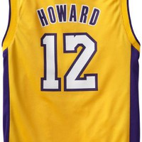 NBA Los Angeles Lakers Dwight Howard Youth 8-20 Replica Home Jersey