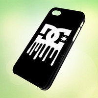 DC logo Drip HP584 Design - Cover For iPhone 4, iPhone 4S, iPhone 5 -  Black, White or Clear Apple Case
