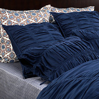 Z Gallerie - Bella Bedding - Indigo Duvet Cover