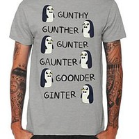Adventure Time Gunter Names T-Shirt - 393159