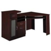 Bush Furniture Vantage Corner Desk, Harvest Cherry