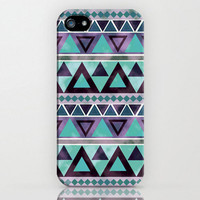 Aztec Tribal Pattern Iphone 5 case Hard Plastic by TICKandPICK