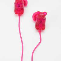 Urban Outfitters - Gummy Bears Earbud Headphones - Red