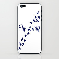 Fly Away. iPhone &amp; iPod Skin by Ian Layne | Society6