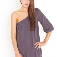 Slice Of Heaven Dress - Slate in Clothes at Nasty Gal