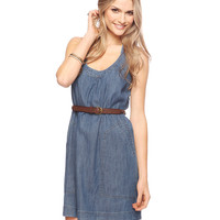 Denim Racerback Dress | FOREVER21 - 2087533587