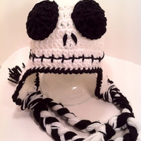 Jack Skellington Hat Skeleton Winter by ConstantlyUnfolding