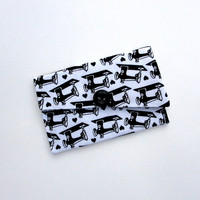 Business Card Case,  Business Card Holder, Sewing Machine