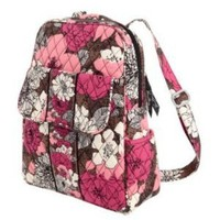 Vera Bradley Backpack in Mocha Rouge:Amazon:Everything Else