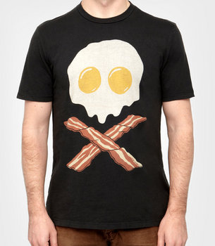 Bacon &amp; Eggs T-shirt | Shop Men&#x27;s Tees Now | fredflare.com