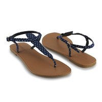 Polka Dot Thong Sandals | FOREVER21 - 2011408924