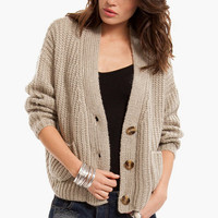 Shaker Oversized Cardigan $56