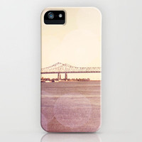 Greater New Orleans Bridge over the Mississippi iPhone Case by Erin Johnson | Society6