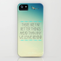 Better Things iPhone Case by Galaxy Eyes | Society6