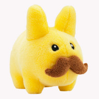 Stache Labbit Plush 7-Inch Yellow Edition | Kidrobot
