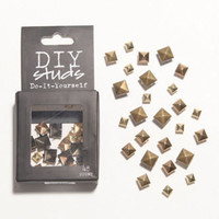 With Love From CA DIY Shiny Pyramid Studs at PacSun.com