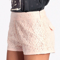 Love And Lace Shorts - $24.50 : ThreadSence, Women&#x27;s Indie &amp; Bohemian Clothing, Dresses, &amp; Accessories