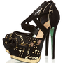 **Stud Lightning Platform Sandals by CJG - Heels - Shoes - Topshop