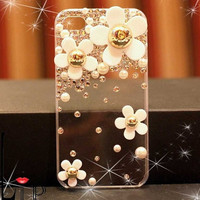 White Flowers IPhone 4 Case Iphone .. on Luulla
