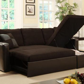 Adjustable sectional sofa bed with from amazon things i for Adjustable sectional sofa bed with storage