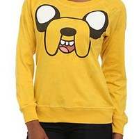 Adventure Time Reversible Pullover Raglan Top - 141477