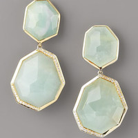 Ippolita - Milky Quartz & Diamond Drop Earrings - Bergdorf Goodman