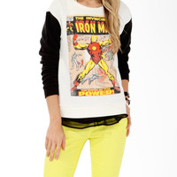 The Invincible Iron Man Pullover