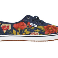 Vans Cedar - Flannel Floral | Shoe Biz - San Francisco