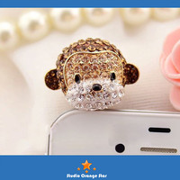 Cyber Monday Etsy 1PC Rhinestone Bling Monkey by StudioOrangeStar