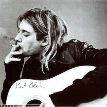 Kurt Cobain - Smoking Posters at AllPosters.com