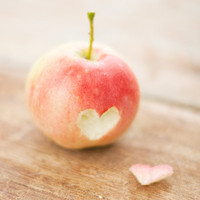 Apple love fine art photography print by photographybykarina