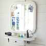 Classic Getting Ready Mirror &amp; Shelf | PBteen