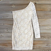 Sweet Azalea Lace Dress in White, Sweet Women's Party Dresses