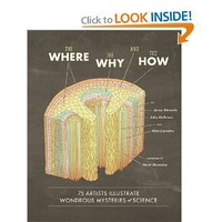 The Where, the Why, and the How: 75 Artists Illustrate Wondrous Mysteries of Science: Matt Lamothe, Julia Rothman, Jenny Volvovski, David Macaulay: 9781452108223: Amazon.com: Books