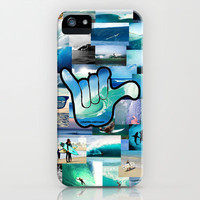 Carlyfornia Surfer iPhone Case by Ian Layne | Society6