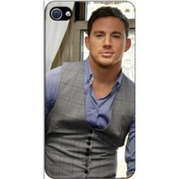 Amazon.com: Channing Tatum 3 - iPhone 4 / 4S Case: Cell Phones & Accessories