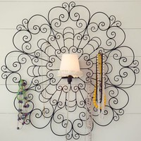 Jewelry Holder Sconce + Shade