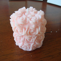 Soy Rose Bouquet Votive Candle by JaxxCandles on Etsy