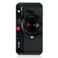 Print Camera iPhone4 &amp; 4s Case-m8