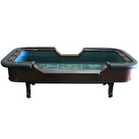 Trademark Poker Premium 8-Foot Craps Table