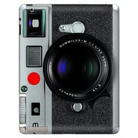 Retro M9 Vintage Camera Apple iPad 2 Gel Skin by stickitskins