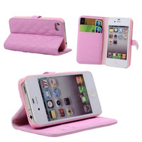 Pink Soft Wallet For Iphone 4/4S on Luulla