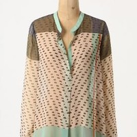 Dappled Sea Blouse - Anthropologie.com