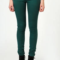 Carrie Forest Sateen Stretch Skinny Jeans